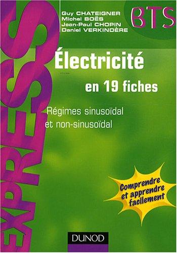Electricité en 19 fiches - Express Dunod