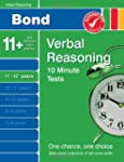 Bond 10 Minute Tests Verbal Reasoning...