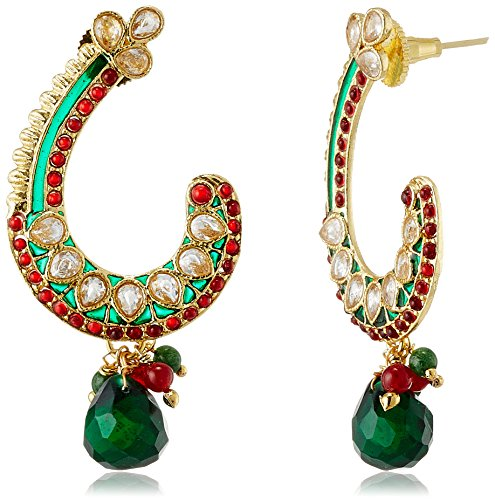 Sia Sia Art Jewllery Drop Earrings For Women (Multi-Color) (AZ1357) (Multicolor)