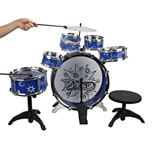 Children's Toys Drum Set by Crazy Cart