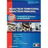 Rédacteur territorial catégorie B. Nouveaux concours 2013