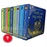 Fiona Watt That's not my Collection 9 Books Set (That's not my Donkey, Kitten, Dinosaur, Robot, Pirate, Truck, Mermaid, Dolly, Fairy)