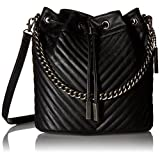 Aldo Specialty Shoulder Handbag, Black Leather