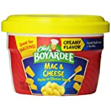 Chef Boyardee Macaroni and Cheese, 7.5-Ounce Microwavable Bowls (Pack of 12) ~ Chef Boyardee