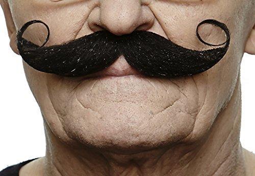 Maestro black moustache