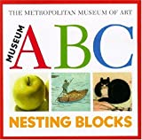 Museum ABC Nesting Blocks (0316736082) by Metropolitan Museum of Art