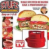 Stufz Stuffed Burger Press Grill BBQ Patty Maker For Hamburger Juicy As Seen On TV  from Repasil