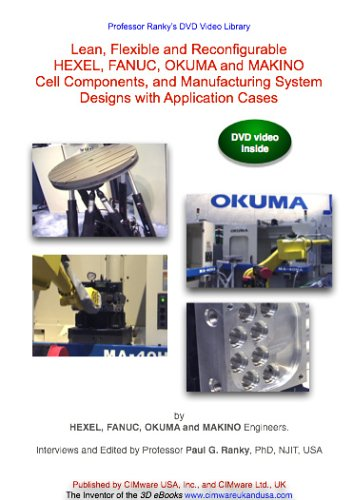 Lean, Flexible and Reconfigurable HEXEL, FANUC, OKUMA and MAKINO Cell Components, and Manufacturing System Designs with Application Cases