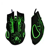 Game Mouse,TOMIN 2400DPI LED Optical 6D USB Wired Gaming Game Mouse For PC Laptop Game