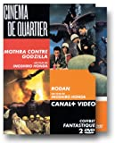 echange, troc Coffret cinéma de quartier 2 DVD : Mothra contre Godzilla / Rodan