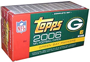 Topps 2006 NFL Trading Cards - Green Bay Packers by Legends, L.p.