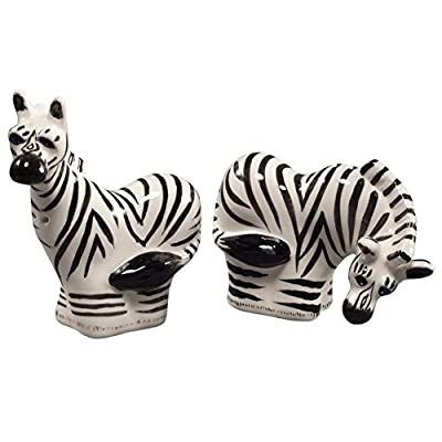 Safari Zebras Salt And Pepper Shakers from WL