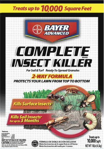 Bayer Advanced 700288 Complete Insect Killer for Soil and Turf Granules, 10-Pound (Flea Control For Yard compare prices)