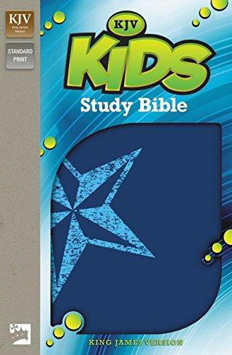 孩子们学习圣经: 国王 James 版本,银河蓝