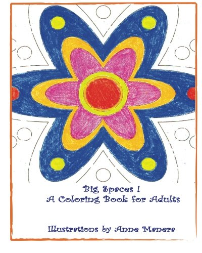 BIG SPACES ! A Coloring Book for Adults (Simple Spaces compare prices)