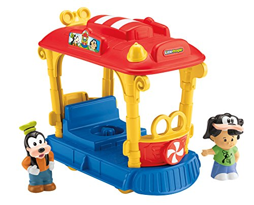 Fisher-Price Little People Disney Jolly Trolley - 1