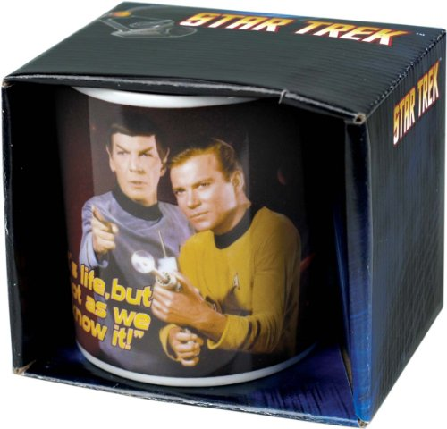 gadget geek - star trek mug life half moon bay