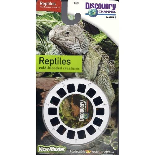 Amazon.com: Discovery Channel Reptiles 3D View-Master 3 Reel Set