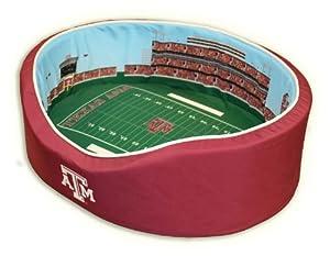 NCAA Texas A&M Aggies Stadium Pet Beds, 18 x 22-Inch