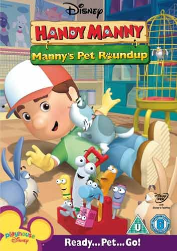 Handy Manny - Manny's Pet Round Up [DVD]