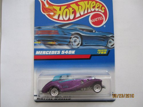 Mercedes 540k 1998 Hot Wheels #788 Wire Spoke Wheels