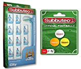 SUBBUTEO BUNDLE - FOOTBALL MATCH FOOTBALLS AND MANCHESTER CITY FOOTBALL CLUB - 2 ITEMS SUPPLIED
