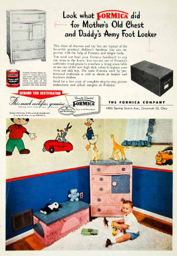 1955-ad-formica-contact-bond-cement-construction-furniture-children-household-original-print-ad