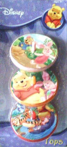 Disney Winnie the Pooh Spinning Tops (3-pack) - Buy Disney Winnie the Pooh Spinning Tops (3-pack) - Purchase Disney Winnie the Pooh Spinning Tops (3-pack) (What Kid's Want, Inc., Toys & Games,Categories,Activities & Amusements,Spinning Tops)