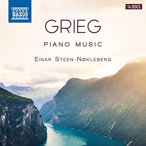 CD : GRIEG / STEEN-NOKLEBERG - Complete Piano Music (14 Discos)
