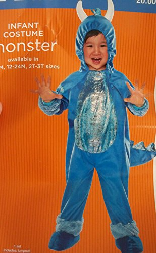 Infant Plush Costume - Monster - Size 6-12 Months (6-12 MONTHS)