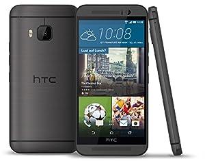 HTC One (M9) Smartphone (12,7 cm (5 Zoll) Full-HD-Display, Octa-Core-Prozessor, 20 Megapixel-Kamera, 32GB interner Speicher, Android 5.0.2) dunkelgrau