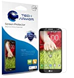 Tech Armor LG G2 Smartphone High Defintion (HD) Clear Screen Protectors - Maximum Clarity and Touchscreen Accuracy [3-Pack] Lifetime Warranty