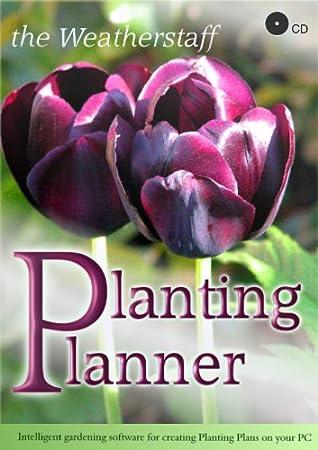 The Weatherstaff PlantingPlanner CD, Intelligent Garden Design Software for Creating Tailor-made Planting Plans