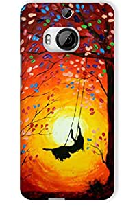 IndiaRangDe Hard Back Cover FOR HTC One M9 Plus +