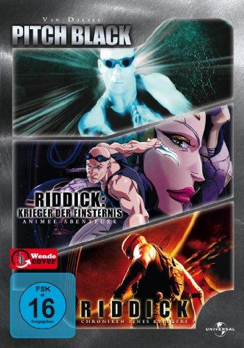 Pitch Black / Riddick - Krieger der Finsternis / Riddick - Chroniken eines Kriegers (3 DVDs)