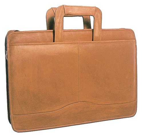 david-king-co-single-gusset-drop-handle-tan-one-size