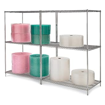 RELIUS SOLUTIONS Open Wire Bulk Shelving