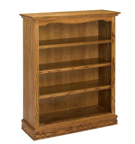 48 Solid Oak Americana Bookcase By A & E Wood Designs