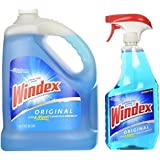 Windex® Complete Glass & Multi Surface Cleaner Trigger Spray 946mL/1 Qt + Refill 1 Gallon