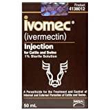 Ivomec Injection 1% 50ml Btl