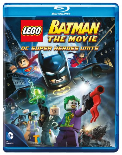 Lego Batman The Movie Dc Superheroes Unite Blu-ray at Gotham City Store