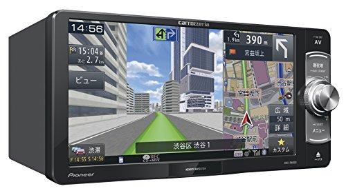 カロッツェリア(パイオニア)  楽ナビ 7型ワイド カーナビ AVIC-RW900 フルセグ/DVD/CD/SD/Bluetoothオーディオ