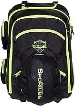 Sportube Overheader Boot Padded Ski Boot Backpack - Black/Green