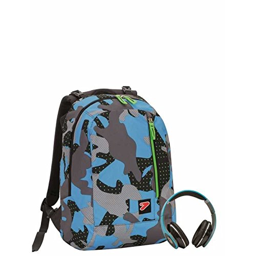 ZAINO DOUBLE B.PACK SEVEN CAMOUFLAGE 201001681
