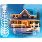 6' Multi-Color Lighted Outdoor Spiral Christmas Tree Yard Art Decoration