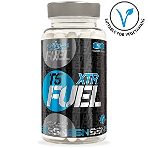Simply Sport Nutrition XTR FUEL T5 Fat Burner - Strong Slimming Pills (1 Month' Supply)