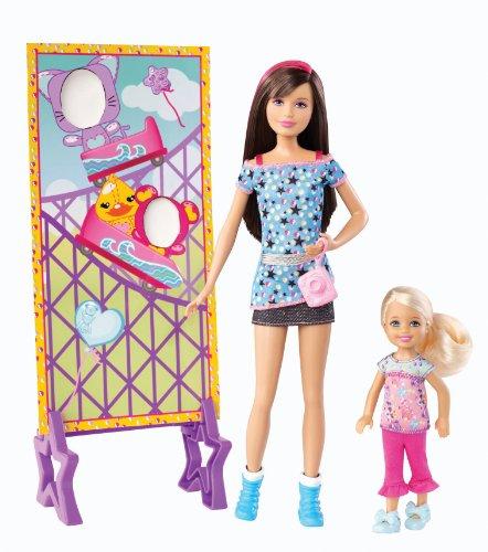 Barbie-Muecas-Skipper-y-Chelsea-parque-de-atracciones-Mattel-X9069