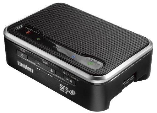 Uniden iPhone4S 対応 ワイヤレス Bluetooth スピーカー ブラック UBTS300(B)