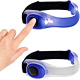iGadgitz-Xtra-Lumin-Safe-Reflective-Hi-Vis-Waterproof-Adjustable-Wearable-Silicone-Armband-Strap-with-LED-Flashing-Light-for-Running-Cycling-Walking-More