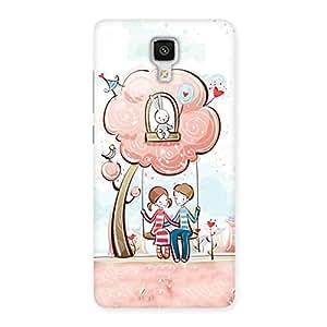 Cute Swing Love Multicolor Back Case Cover for Xiaomi Mi 4